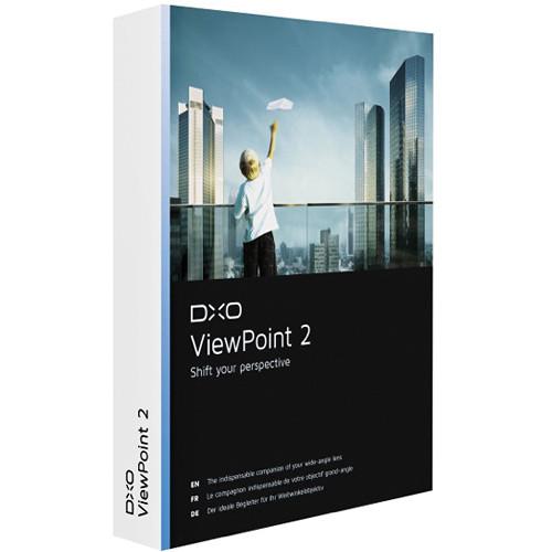 برنامج + ملحق لتعديل الصور المائلة, ملحق فوتوشوب لتصحيح الصور, برنامج DxO ViewPoint Trail