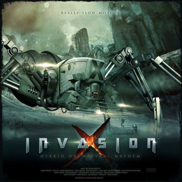 تأثيرات صوتية لبرامج المونتاج Really Slow Motion - Invasion X