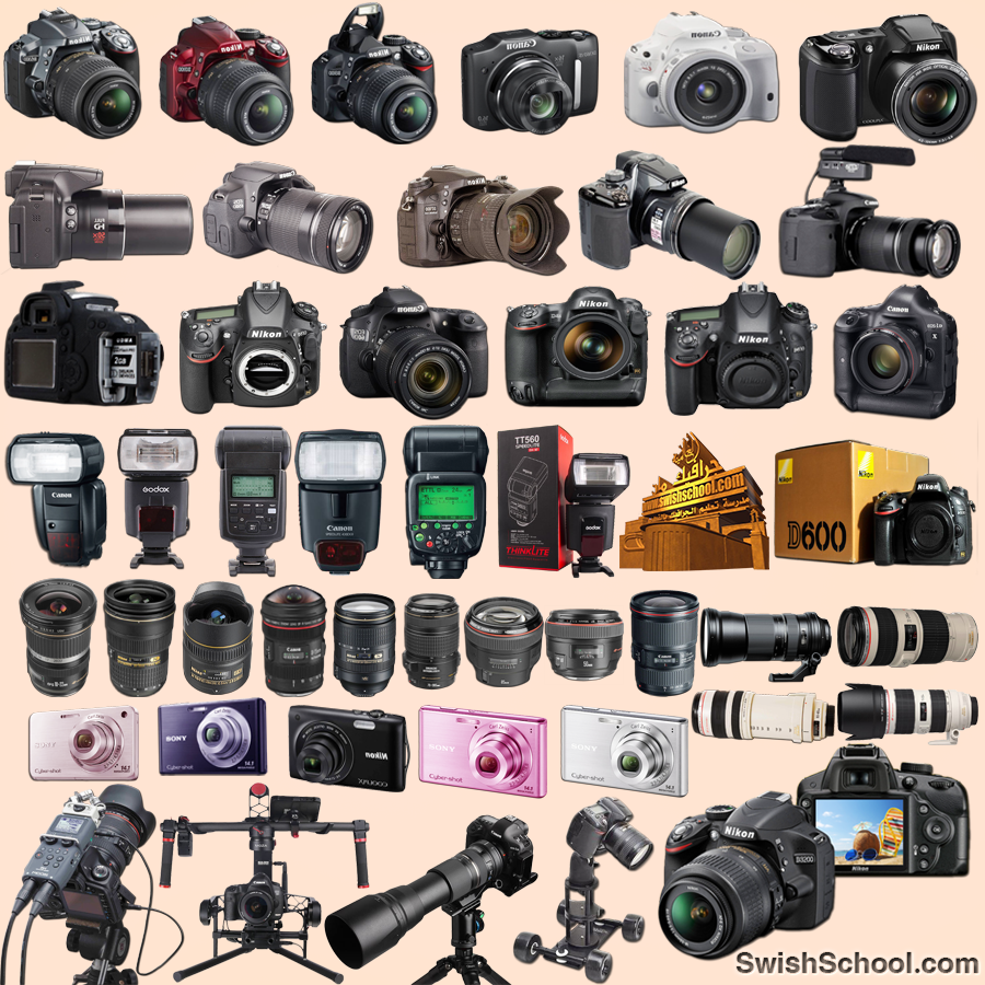 سكرابز كاميرا وعدسات تصوير png