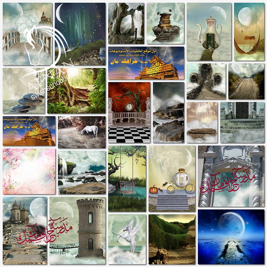 خلفيات جرافيك فانتازيا احلام واماني ( الجزء الثالث )