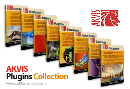 مجموعــة فلاتر AKVIS Photoshop PlugIns كامله