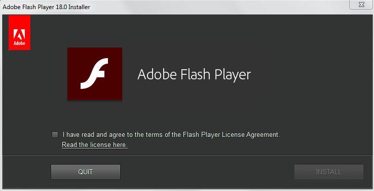 تحميل فلاش بلاير كامل Download Flash Player 18