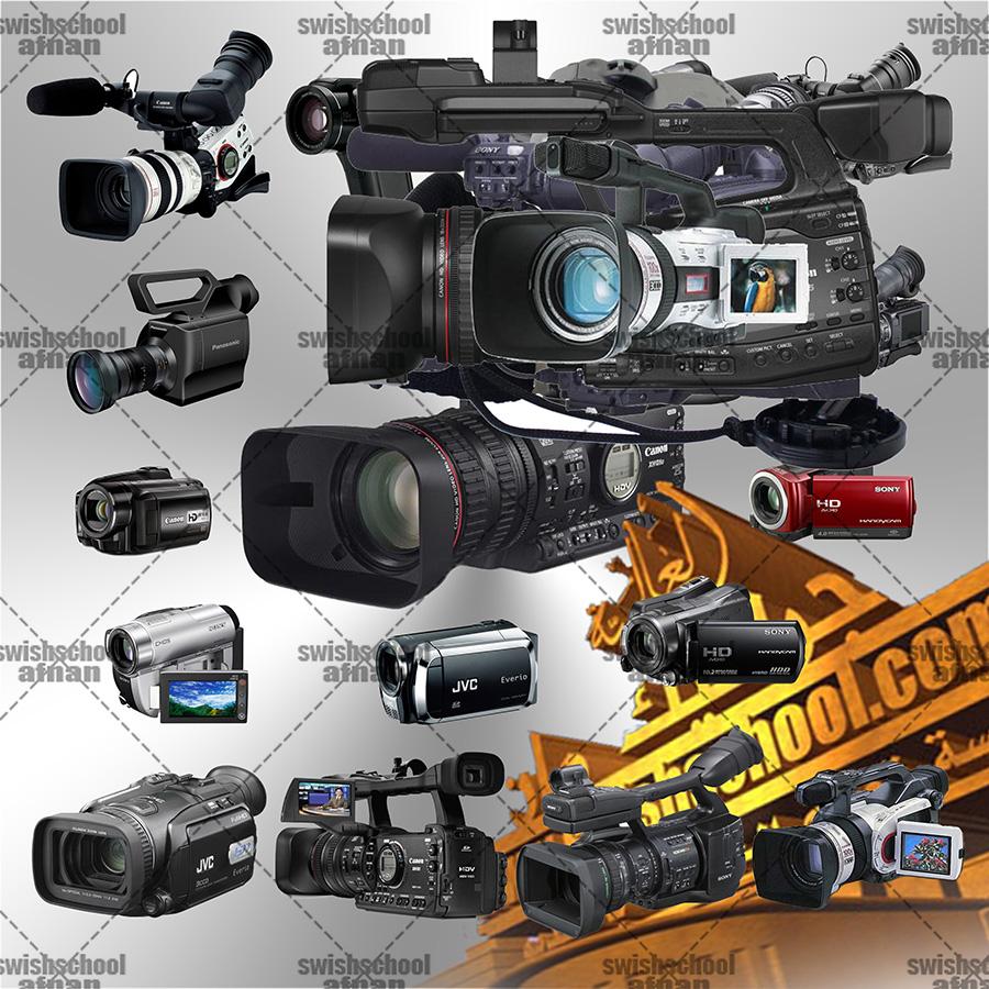 صور كاميرات مقصوصه في ملف مفتوح psd