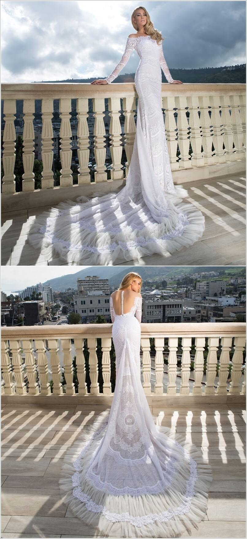 اجمل فساتين ليله العمر باجمل التصاميم لعروسه 2016