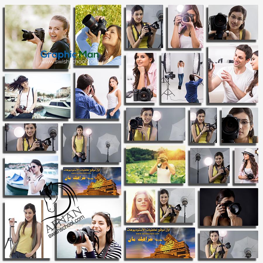 صور بنات مع كاميرات تصوير عاليه الجوده للفوتوشوب والدعايه والاعلان jpg