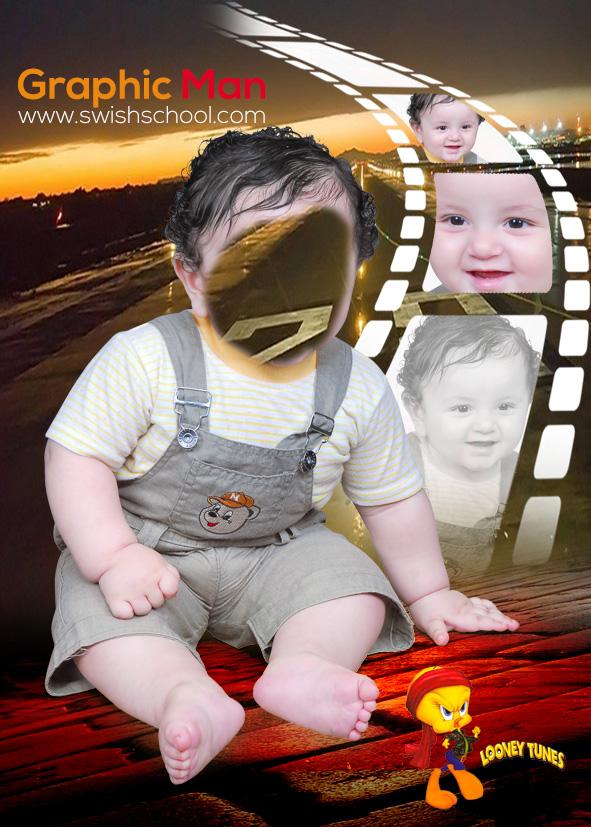 الدفعه الاولى من خلفيات الاطفال + تركيب وجه الاطفال + لمسات فنيه psd