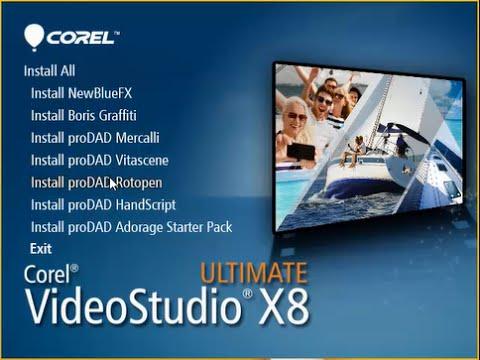 البرنامج العملاق لعمل المونتاج النسخة النهائية Corel VideoStudio Ultimate X8 18.0.0.181 Multilingual (x86-x64