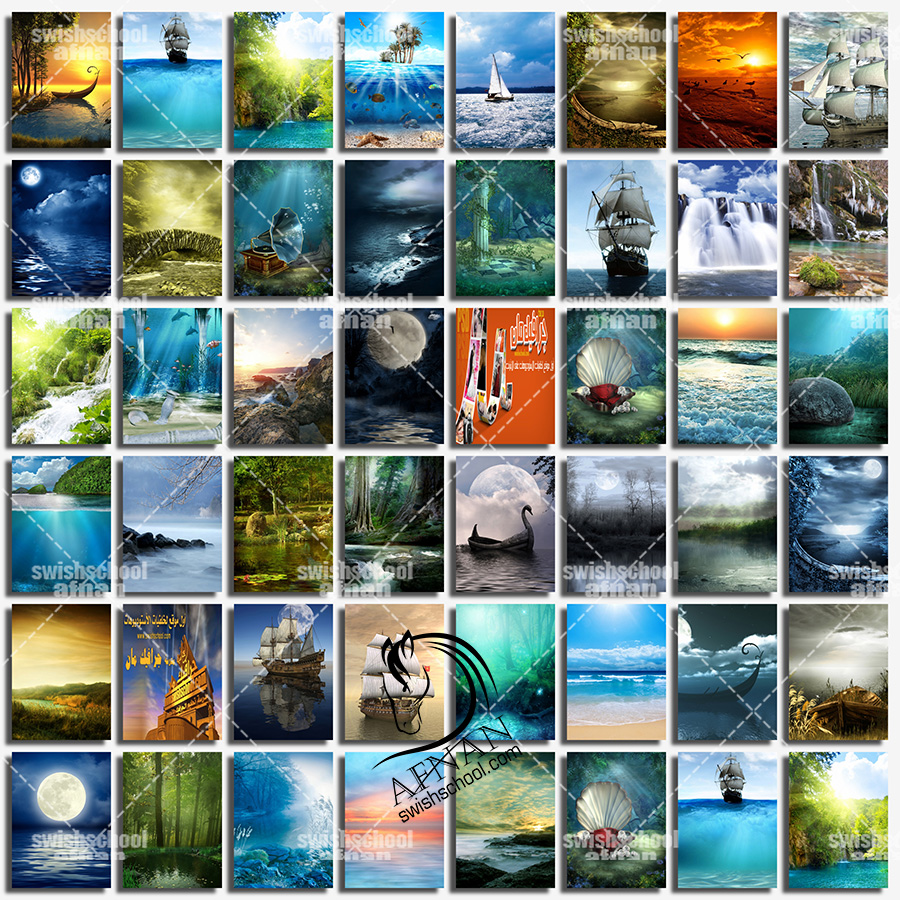 خلفيات جرافيك طبيعه وفانتازيا للاستديوهات والتصميم عاليه الجوده jpg