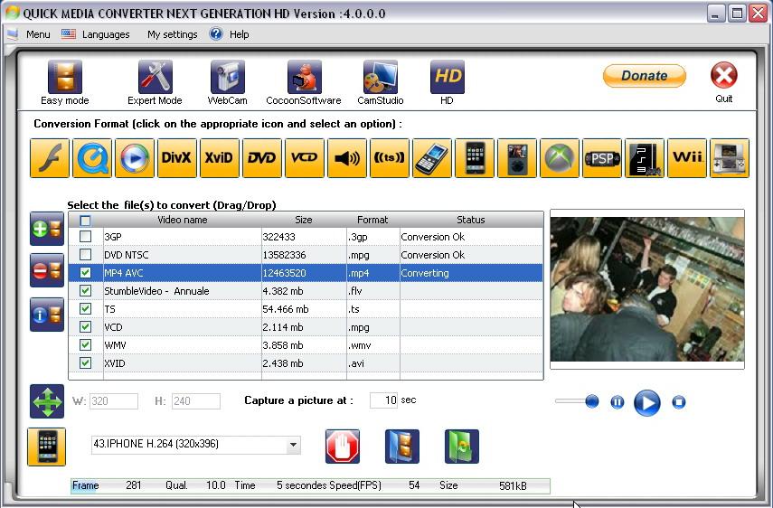 برنامج تحويل ملفات الفيديو لإمتداد ts لتعمل على الرسيفر مع شرح بالفيديو