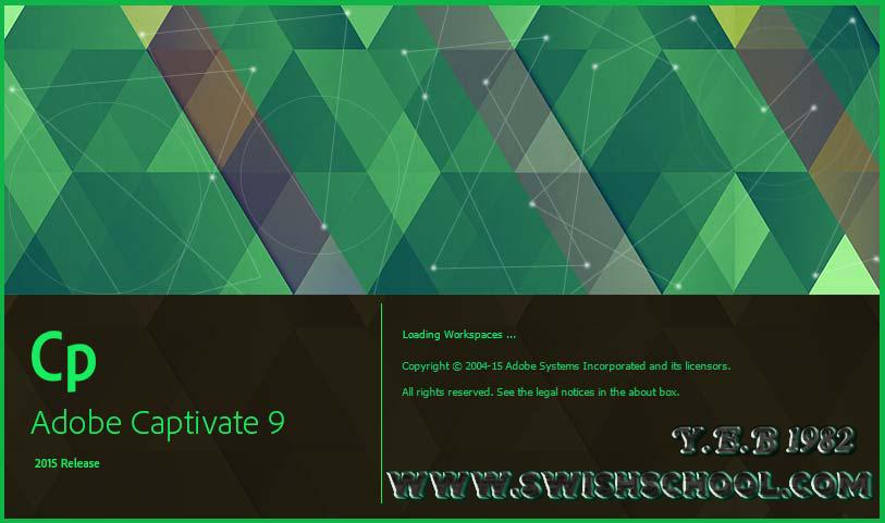برنامج عمل الشروحات المميز أدوبي كابتيفت Adobe Captivate 9.0.1.320 الإصدار الجديد