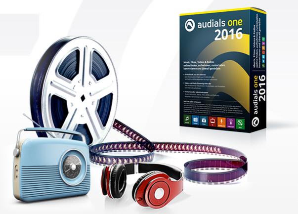 برنامج الراديو على الحاسوب, تشغيل الاستماع للراديو على الحاسوب, برنامج Audials One 2016 14.0.63200.0
