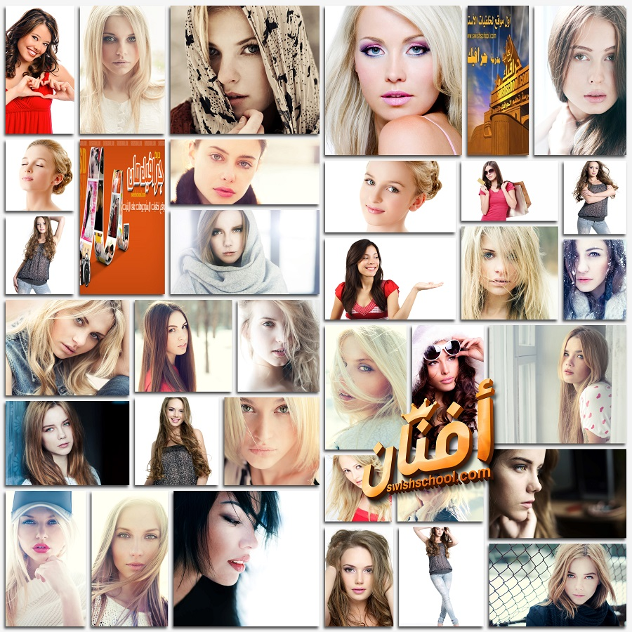 خلفيات بنات بورترية عاليه الجوده للتصميم jpg - صور بنات للتحميل ( الجزء الثاني )