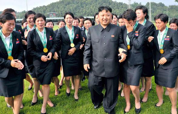 لماذا تبكي النساء عند مشاهده زعيم كوريا الشمالية كيم جونج أون
