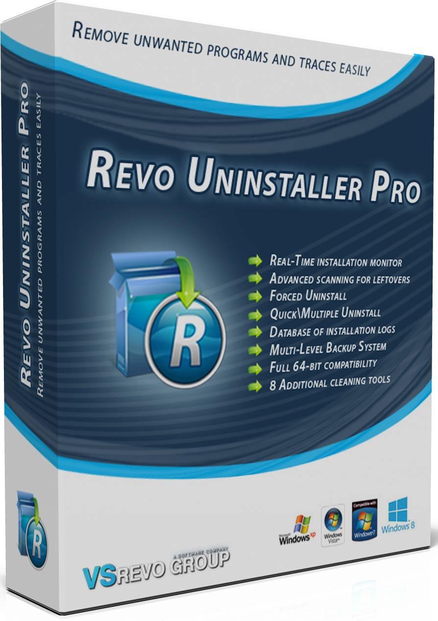 برنامج اقتلاع البرامج من جذورها, برنامج ازالة البرامج واقتلاعها Revo Uninstaller Pro 3.1.6 Multilingual