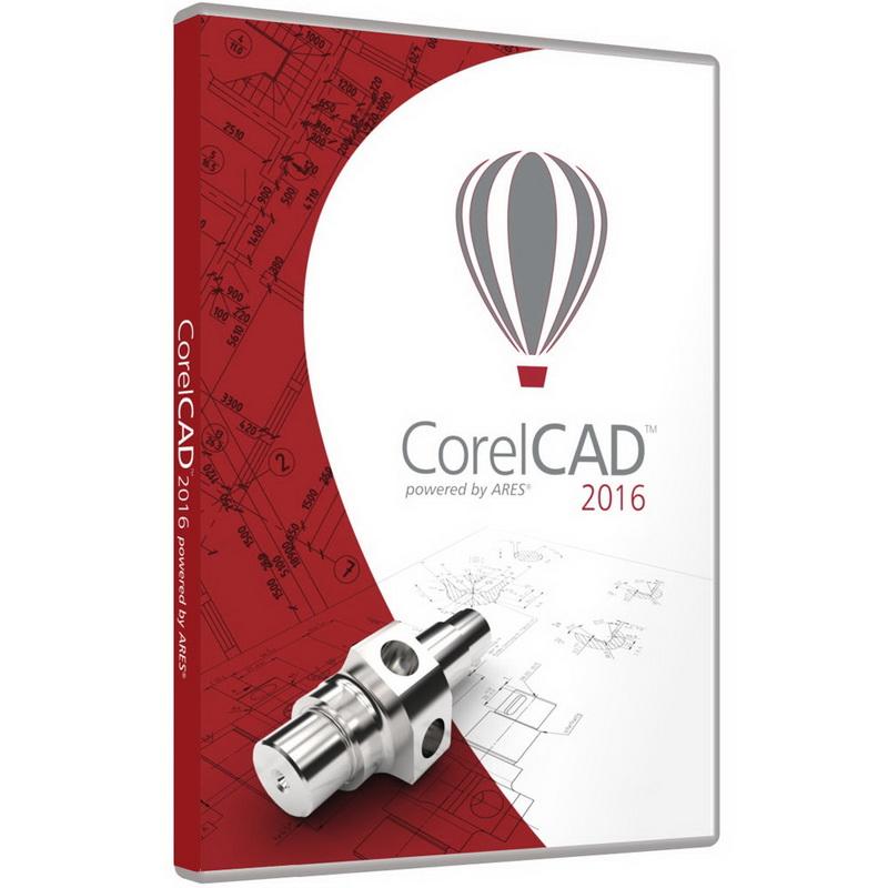 برنامج تصميم المجسمات ثري دي, برنامج انشاء مجسمات 2D و 3D, برنامج CorelCAD 2016.5 build 16.2.1.3056