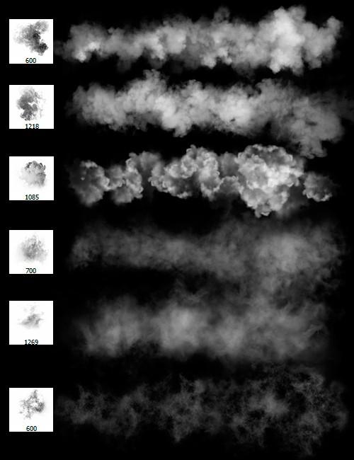 فرش فوتوشوب بخار, فرش فوتوشوب دخان, مجموعة فرشات فوتوشوب بخار ودخان