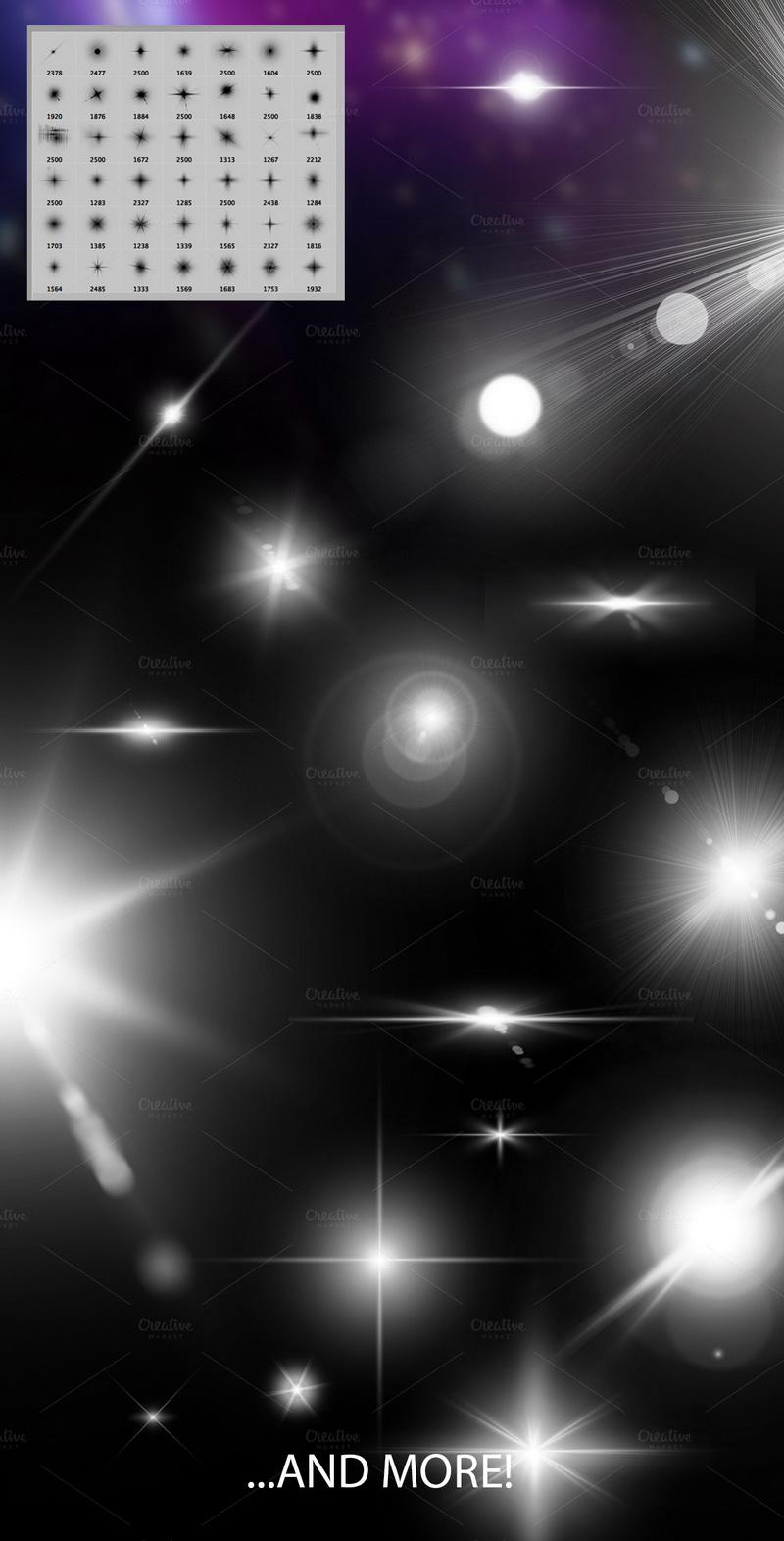 فرش فوتوشوب لمعة, فرش توهج, فرش نجمة, فرش فوتوشوب نجوم, فرش لمعة نجوم