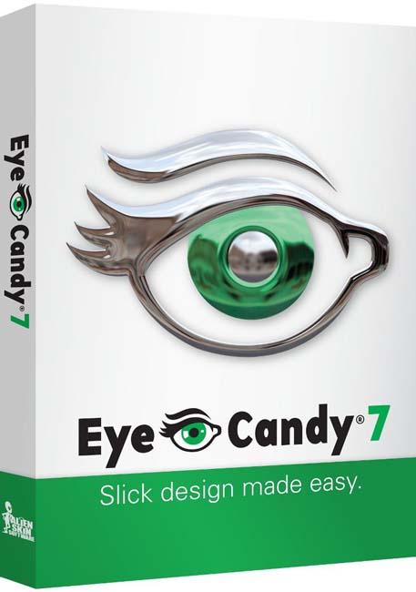 ����� ���� ������� �� ����� Alien Skin Eye Candy 7.0 ���� ��� ��������� �������