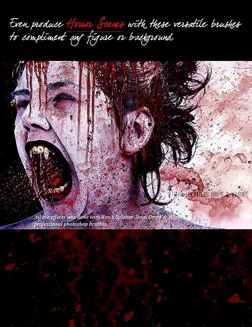 فرش بقع الدم, فرش بقع متسخة, فرش رش الدماء, فرش قطرات الدم, فرش بقع ملوثة