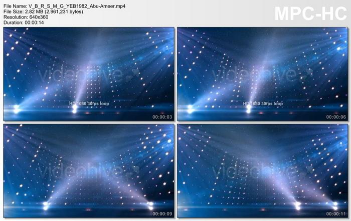 قالب فيديو مسرح سينمائي, قالب فيديو اضاءات سينمائية, قالب فيديو اضواء سينمائية