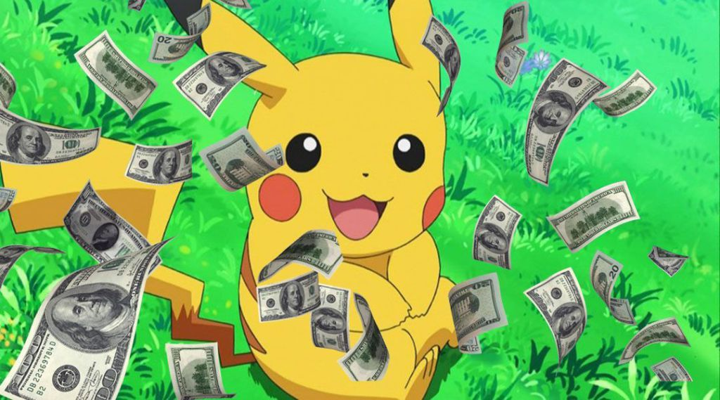 ارباح لعبة بوكيمون جو يوميا 10مليون دولار