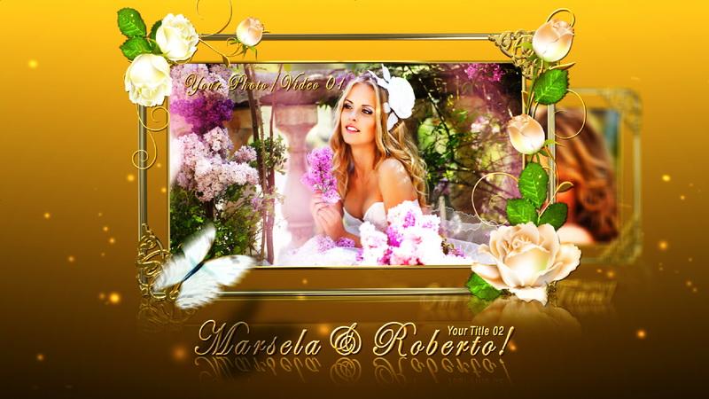 قالب افتر افيكتس زواج, قالب افتر افيكتس مناسبات رومانسية, قالب افتر افكتس حب ورومانسية, قالب فيديو زواج