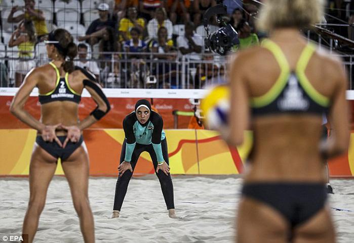 ريو 2016 : سيدات الكره الشاطئية يخسرن أمام ماكينات ألمانيا