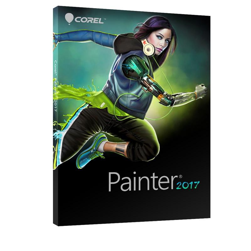برنامج كورل باينتر الجديد, برنامج الرسومات كورل باينتر, برنامج الرسم بالفرشاة Corel Painter 2017