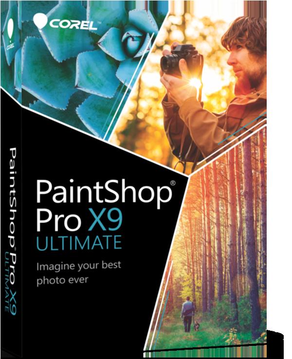 برنامج التصميم العملاق كورل باينت شوب, برنامج الجرافيك العملاق Corel PaintShop Pro X9 Ultimate 19.0.1.8