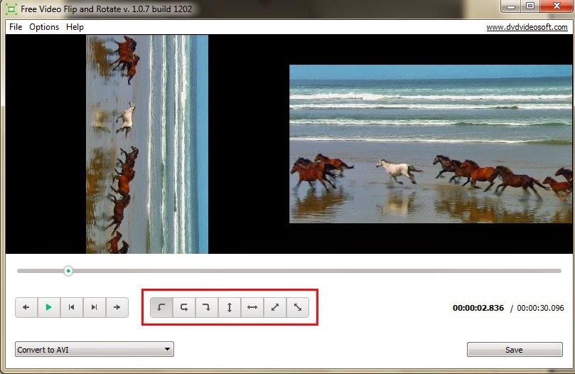 برنامج تدوير الفيديو المقلوب لف الفيديو عدل الصوره rotate video