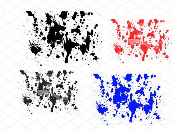 فرش رش, فرش فوتوشوب الوان مائية, فرش فوتوشوب رش على الجدران, فرش فوتوشوب Cool Splatter