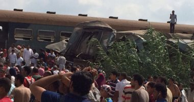 31 حالة وفاة و 80 مصاب حادث تصادم قطار الاسكندريه