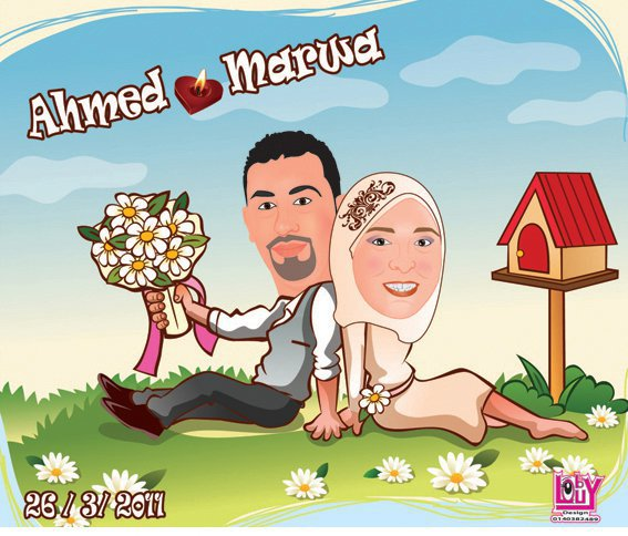 wedding cartoon poster 16 صوره فرح كارتون wedding cartoon poster