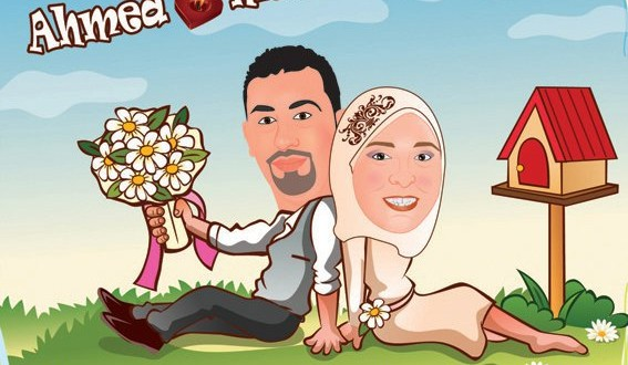 wedding cartoon poster 17 صوره فرح كارتون wedding cartoon poster