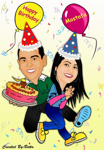 wedding cartoon poster 22 صوره فرح كارتون wedding cartoon poster
