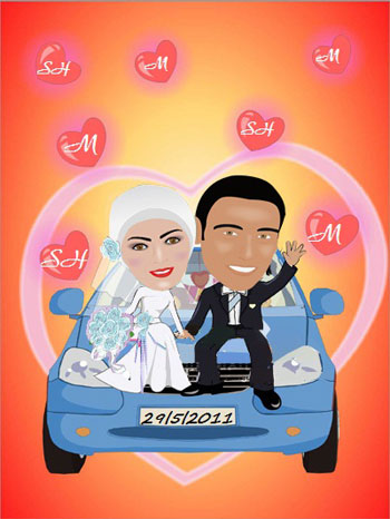 wedding cartoon poster 23 صوره فرح كارتون wedding cartoon poster