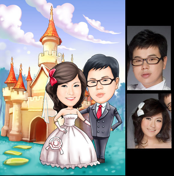 wedding cartoon poster 3 صوره فرح كارتون wedding cartoon poster