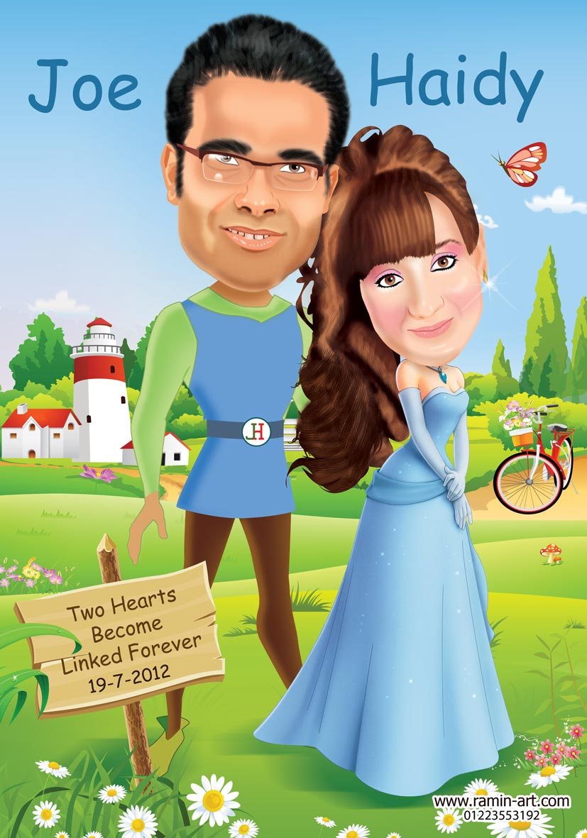 wedding cartoon poster 4 صوره فرح كارتون wedding cartoon poster