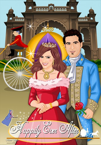 wedding cartoon poster 6 صوره فرح كارتون wedding cartoon poster