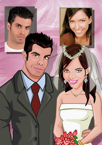 wedding cartoon poster 9 صوره فرح كارتون wedding cartoon poster