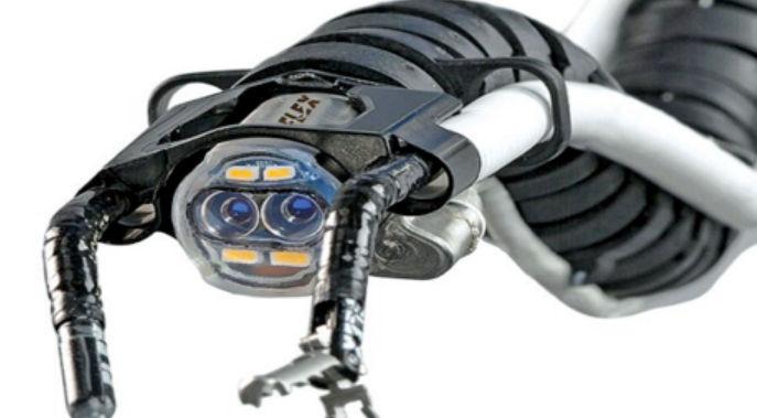 روبوت على شكل ثعبان روبوت على شكل ثعبان لاجراء عمليات جراحيه من خلال الفم