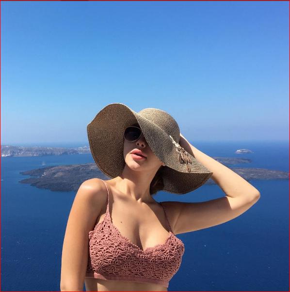 ميريام فارس بالمايوه 2 صور مريام فارس على شواطئ اليونان