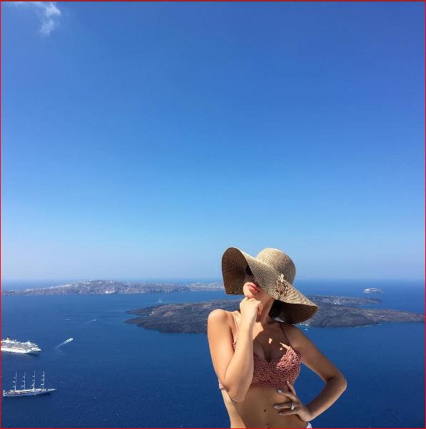 ميريام فارس بالمايوه 3 صور مريام فارس على شواطئ اليونان