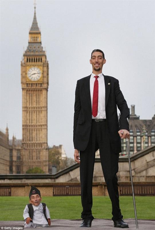 اقصر رجل في العالم 1 اقصر رجل في العالم