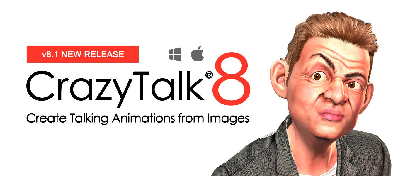 CrazyTalk8 تحميل برنامج كريزي توك crazytalk8