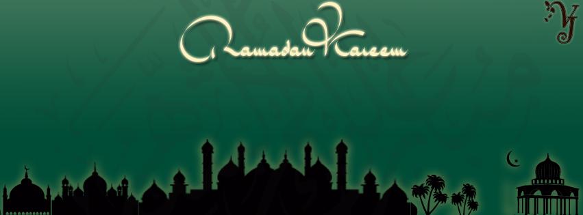 Facebook Cover Ramadan 6 Ramadan Kareem Facebook Cover كفرات فيس بوك شهر رمضان