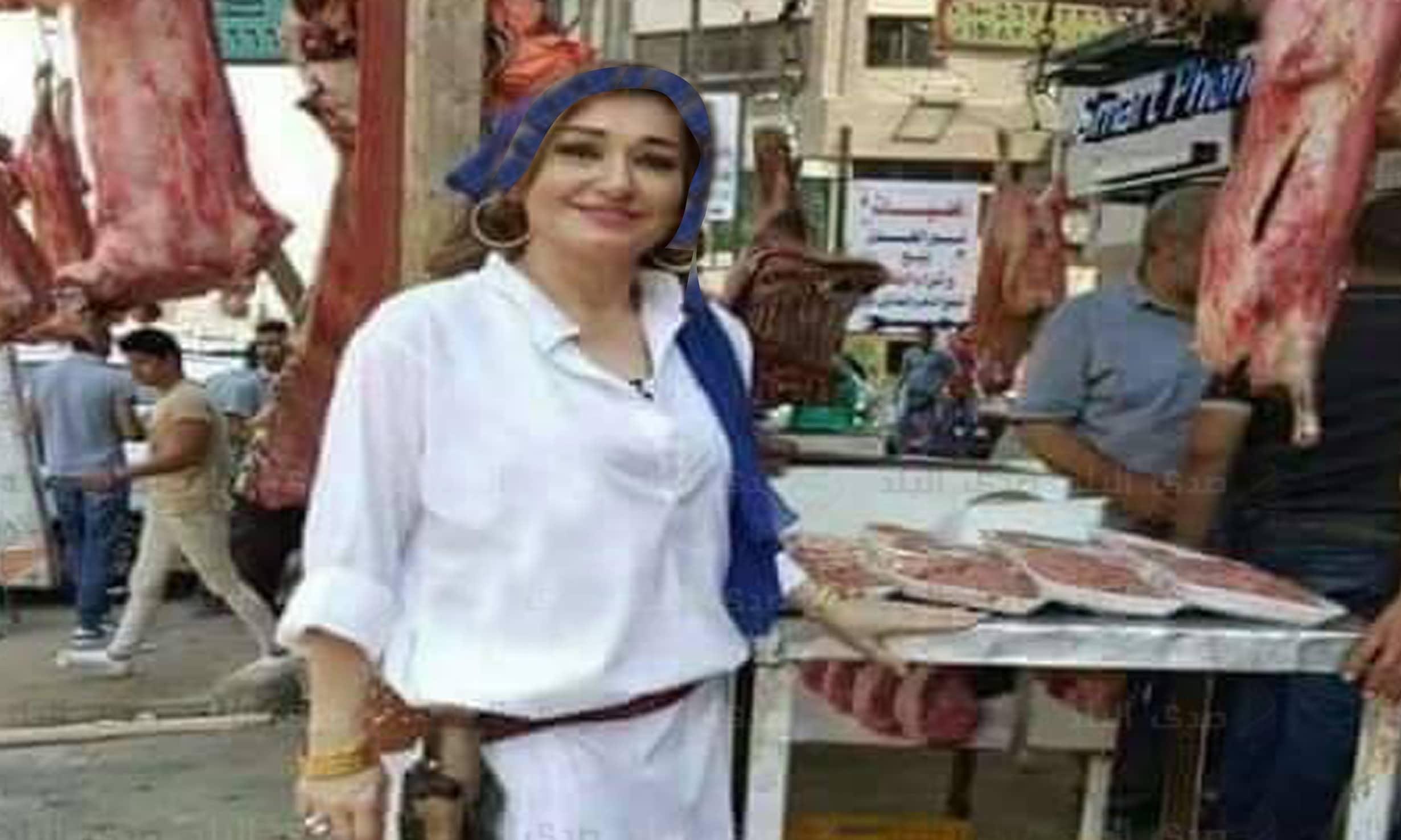 الجزاره الحسناء 6 حقيقة صور الجزاره الحسناء في المنصورة التي اشعلت الفيس بوك