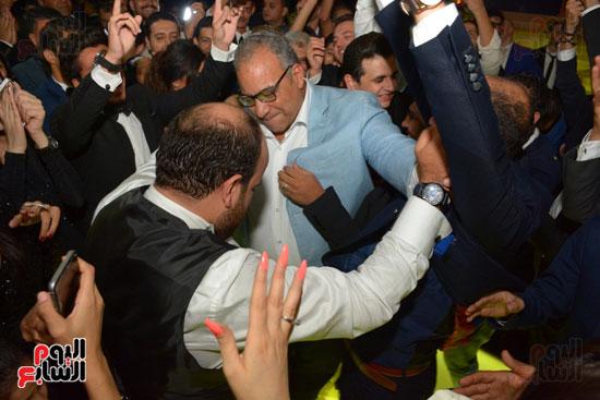 زفاف مصطفى خاطر 5 صور و فيديو زفاف مصطفى خاطر نجم مسرح مصر