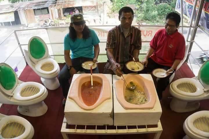 مطعم المراحيض في الفلبين 2 مطعم المراحيض في الفلبين