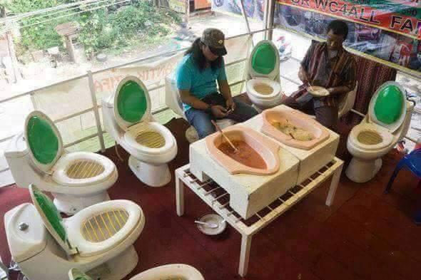 مطعم المراحيض في الفلبين 4 مطعم المراحيض في الفلبين